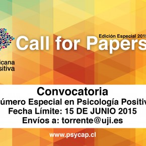 Call for Papers - Convocatoria a número especial